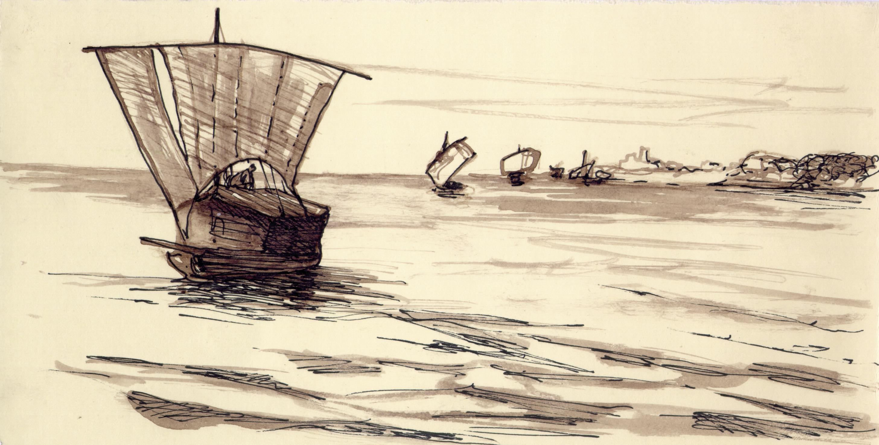 navi in mare