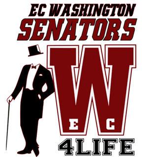 Washington Senators 4 Life on Maroon Gra