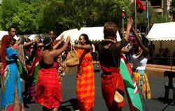south africa women dancing