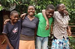 U PEFO children embrace