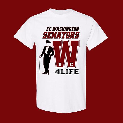 E.C. WASHINGTON SENATORS 4 LIFE T-SHIRT