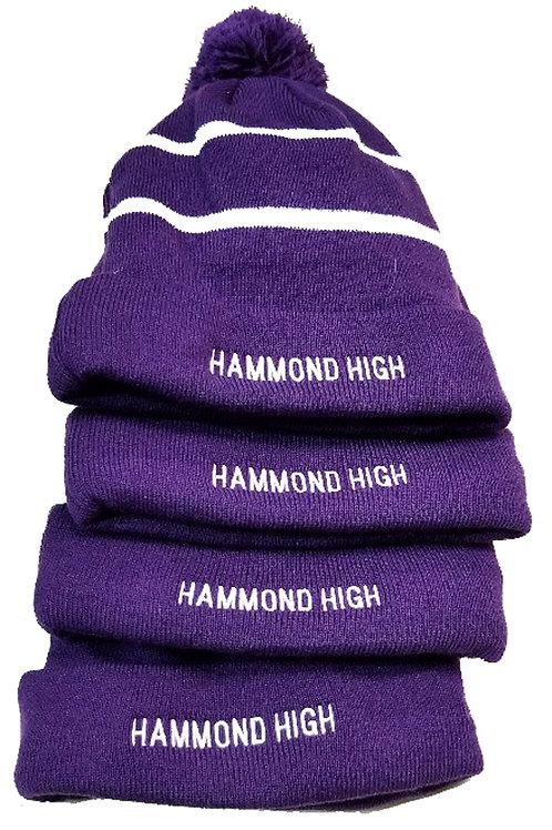 HAMMOND HIGH EMBROIDERED STOCKING CAP
