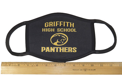 GRIFFITH HIGH SCHOOL PANTHERS MASK