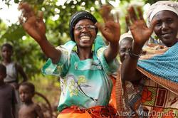 U PEFO grandmothers waving