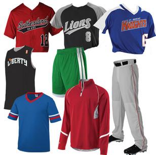 Team Uniforms & Clothing