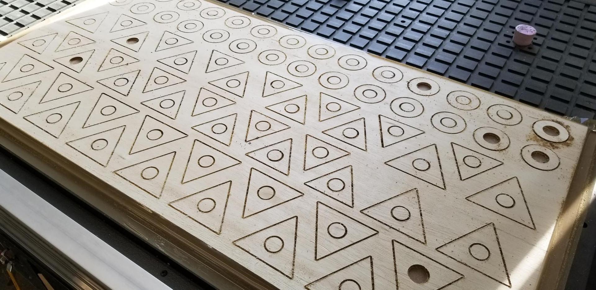 Machining pieces