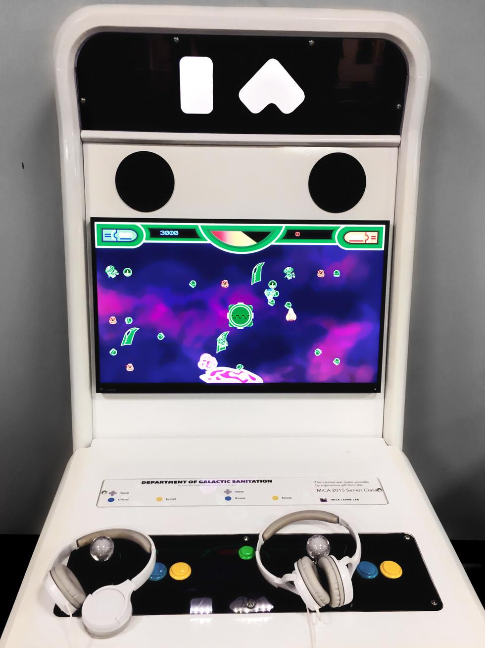 Game on display