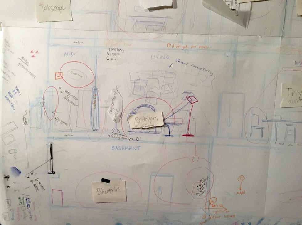 Layout & Path Sketch - Entrance
