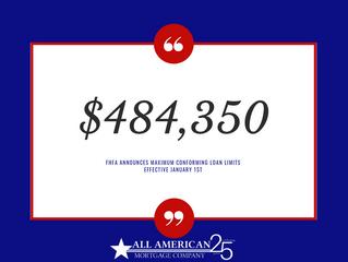 2019 Loan Limit Increase