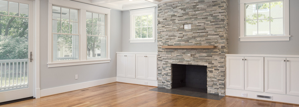 Windmill Hill: Color Meets Classic Fireplace