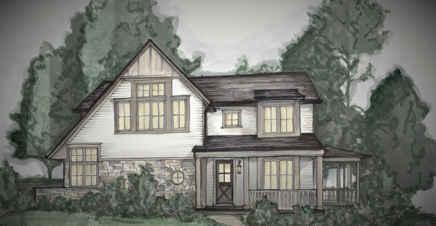 Monticello color rendering