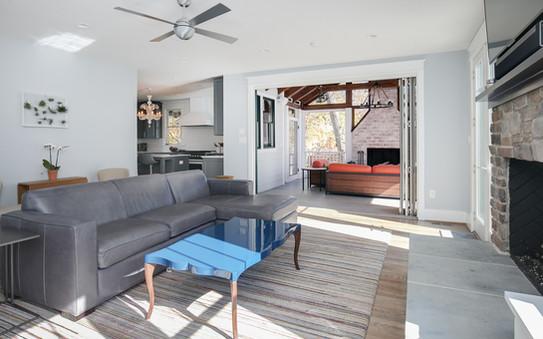 Windmill Hill: Urban Retreat Living Room