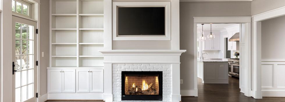 Windmill Hill: Queen Anne Fireplace