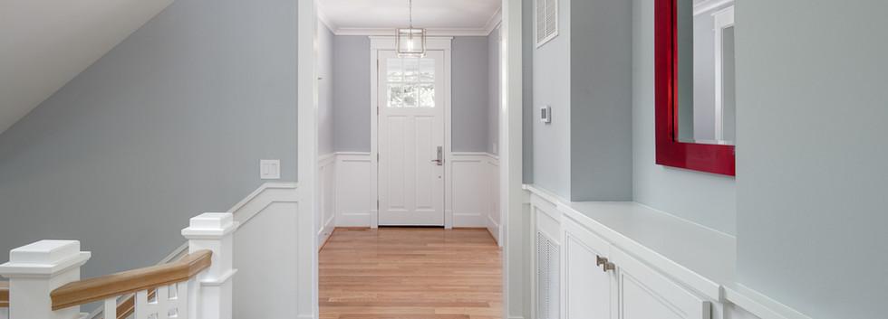 Windmill Hill: Color Meets Classic Hallway