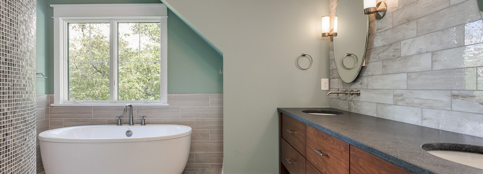 Windmill Hill Urban Retreat: Master Bath