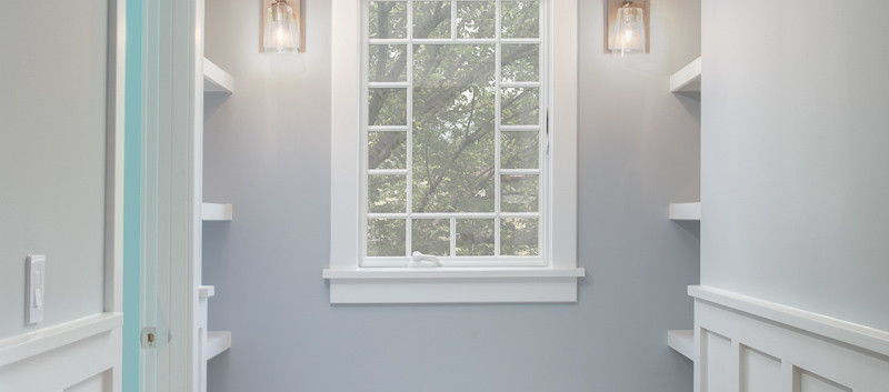Windmill Hill: Color Meets Classic Window Nook