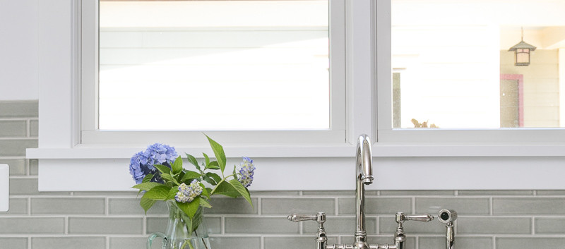 Windmill Hill: Modernized Bungalow Kitchen Detail
