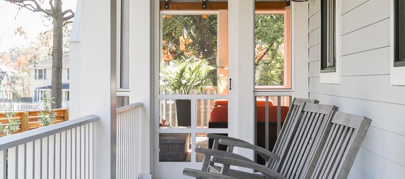 Windmill Hill: Urban Retreat Side Porch