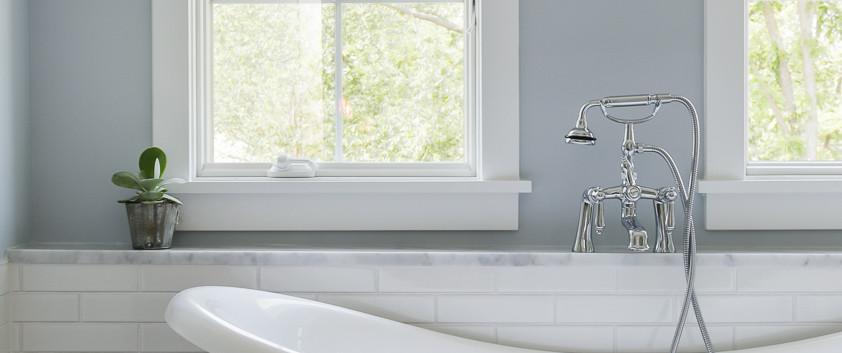 Windill Hill Modernized Bungalow Master Bath