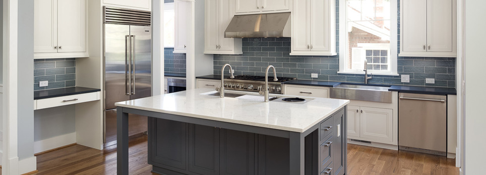 Windmill Hill: Color Meets Classic Kitchen