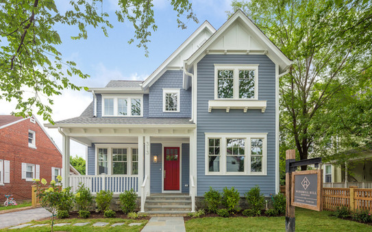 Windmill Hill: Color Meets Classic Front Elevation
