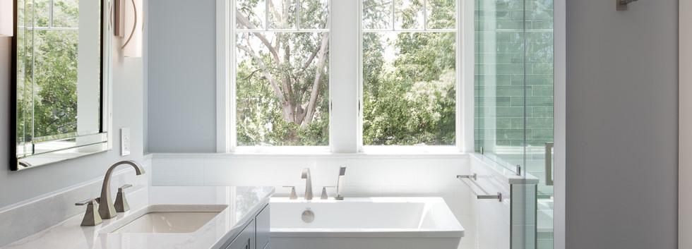 Windmill Hill: Color Meets Classic Master Bath 2
