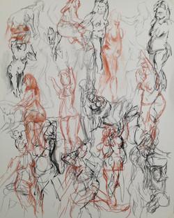 Nude Gesture Study