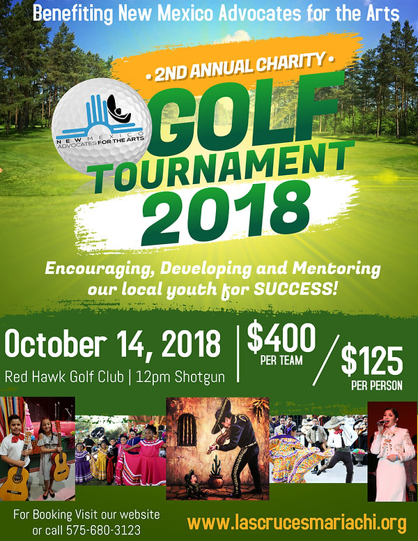 Copy of Charity Golf Tournament Flyer Po