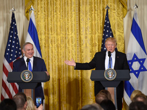 Trump and the destruction of the Jewish State