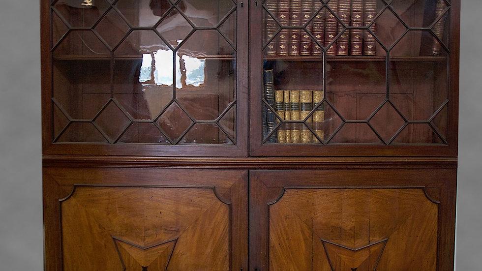 An unusual George III Mahogany Bookcase