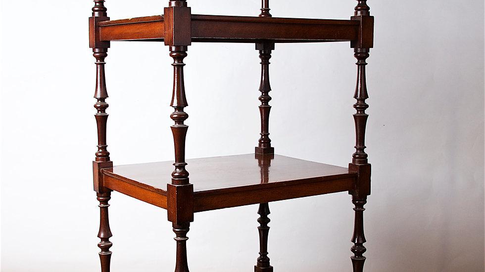 A 19th Century Mahogany Whatnot