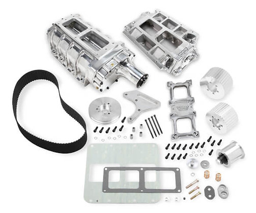 Chevy Small Block WEIAND 6-71 SUPERCHARGER KIT - POLISHED