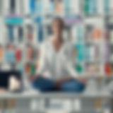 woman-practicing-meditation-on-a-desk-PV