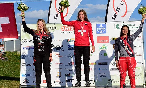 Zoé Claessens, première place à Weinfelden, Suisse