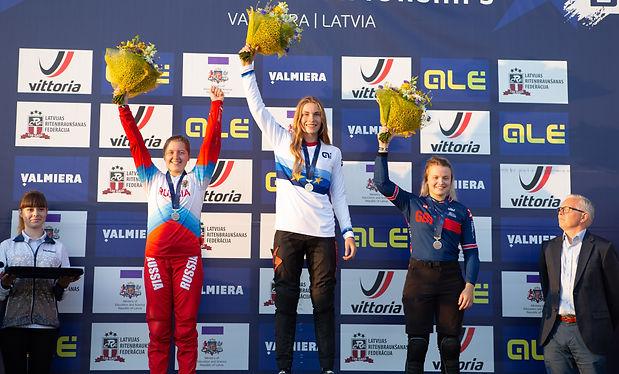 Zoé Claessens, première place à Valmiera, lettonie