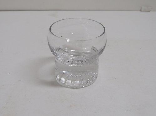 A mid century modern 24 piece set of glassware.