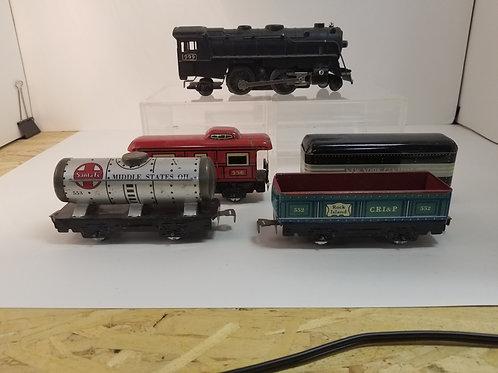 A vintage Train set