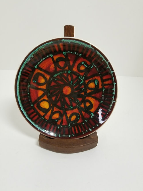 Mid century Poole pottery small plate