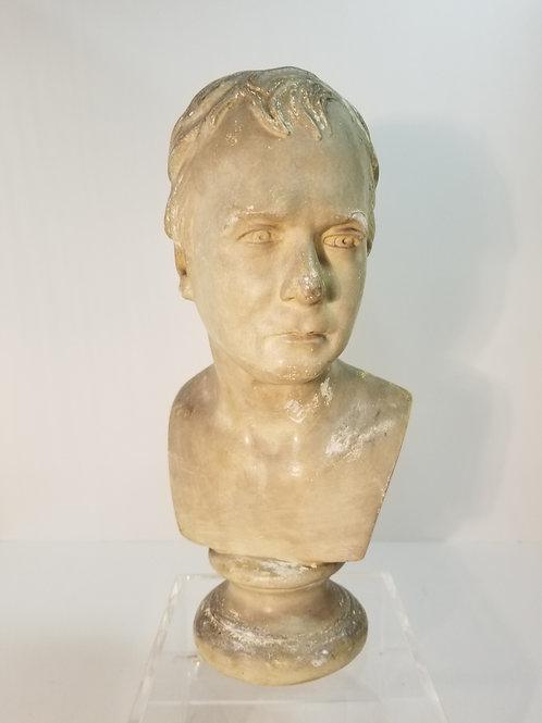 A Rare P P Caproni Plaster Sculpture Bust  #987