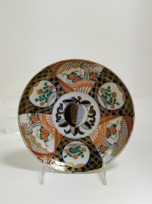 "A Japanese Imari Porcelain Cabinet Plate 7.5"""