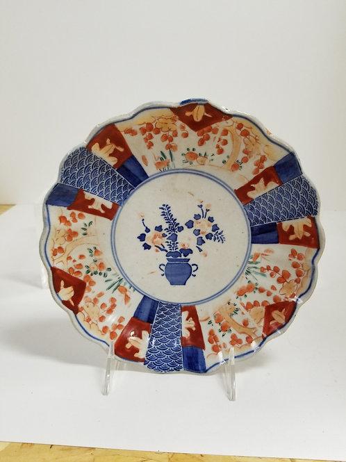 A Japanese Imari Porcelain Cabinet Plate