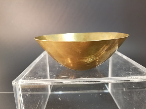 Ronald Hayes Pearson hand spun brass bowl #4