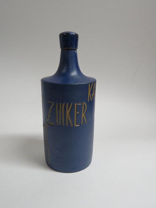 Mid century ceramic bottle