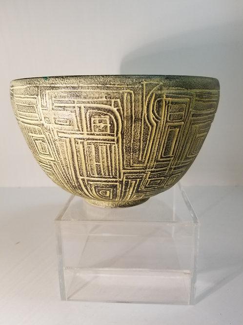 Theo & Susan Harlander Brooklin Studio Pottery Deep Bowl