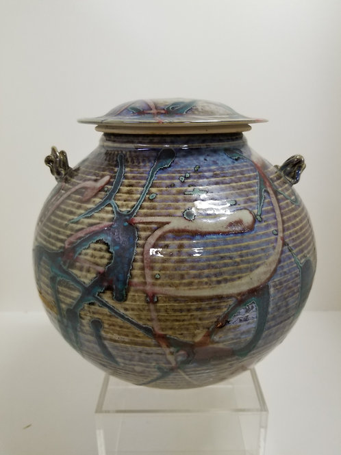 A superb Kayo O Young porcelain  jar and cover
