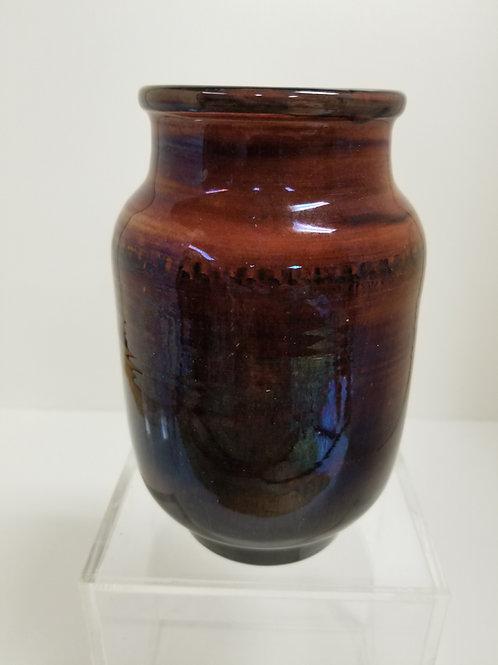William Moorcroft Red  Glazed Vase