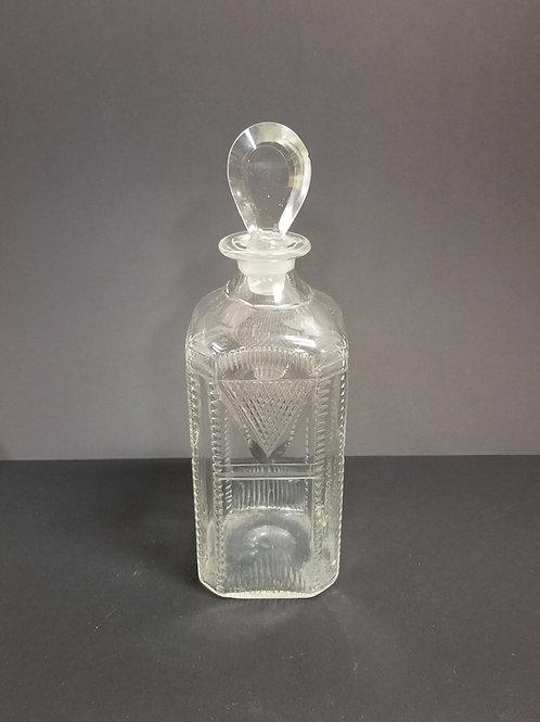 19th Century Cut Glass Decanter