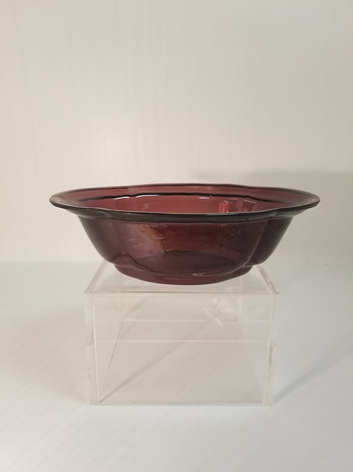 A antique Chinese Peking glass bowl