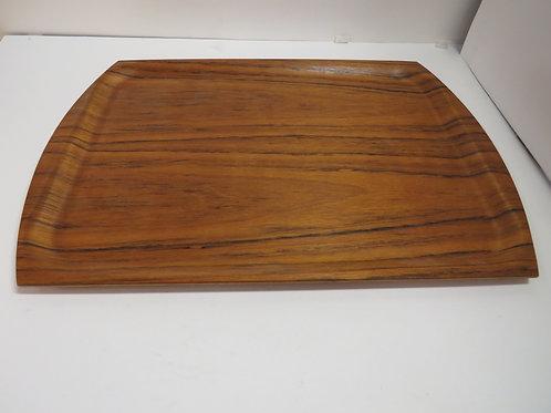 Mid century modern teak tray