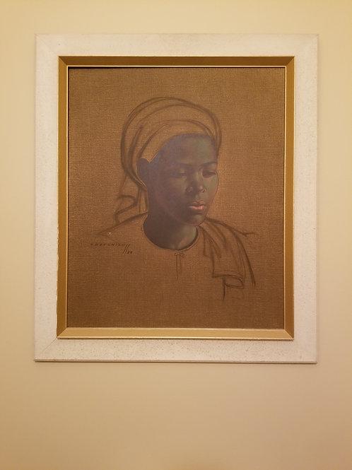 The Basuto girl by Vladimir Tretchikoff